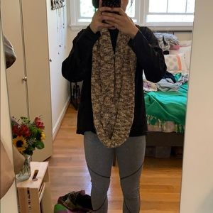 Cute knitted infinity scarf